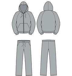 Smock and pants vector