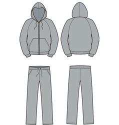 Smock and pants vector