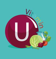 Vitamin u methionine vector