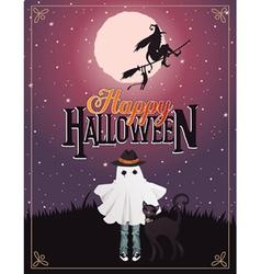 halloween 7 vector image vector image