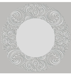 swirling pattern vector image vector image