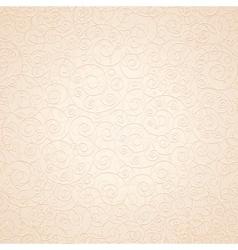 Decorative Ornamental Beige Background vector image vector image