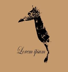 Giraffe Logo vector image vector image
