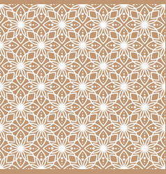 Abstract geometric pattern with lace texture vector