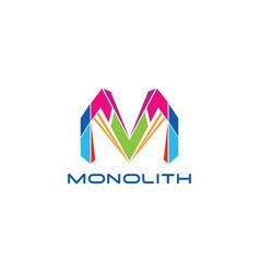 Monolith logo vector