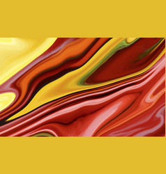 Paintings with marbling texture paint splash vector