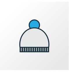 Pompom colorful outline symbol premium quality vector