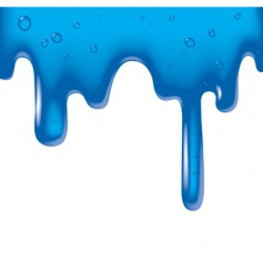 viscous liquid vector image