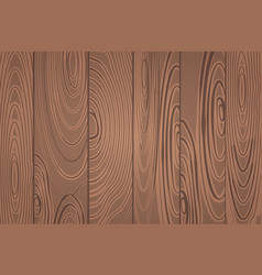 Widescreen horizontal wooden plank wallpaper vector