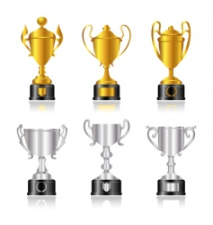 award set vector image vector image