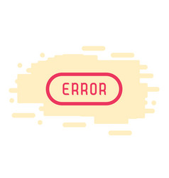 404 connection error abstract background vector image