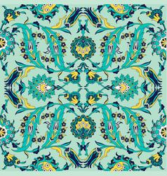 Arabesque vintage decor floral ornate pattern vector