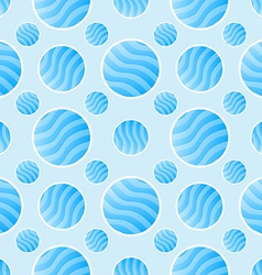 Blue polka dot pattern - abstract background vector