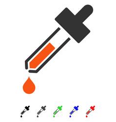 Dropper flat icon vector