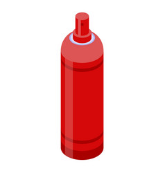 gas spray bottle icon isometric style vector image