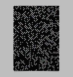 Geometrical circle pattern background brochure vector