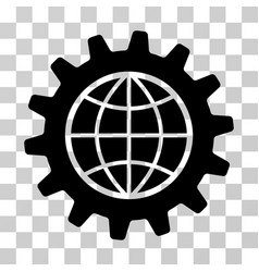 Global options icon vector