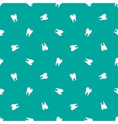 minimalistic teeth seamless pattern vector image