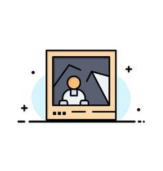 Picture image landmark photo business logo vector
