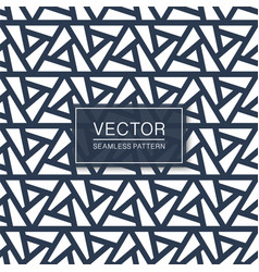 seamless geometric texture - blue and white vector image