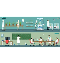 Research Scientist vector image