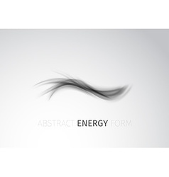 Abstract modern energy form trace background vector image