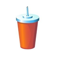 drink isolated vector image vector image
