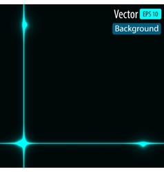 dynamic background with bright lines vector image