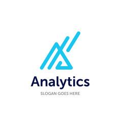 A logo initial modern design for business vector