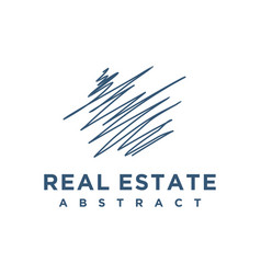 Abstract architect building consulting logo design vector