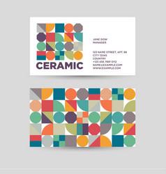 Ceramic logo vector