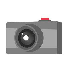 digital photo camera cartoon vector image