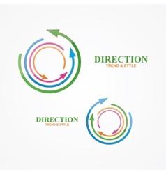 logo design element Creative modern abstract vector image