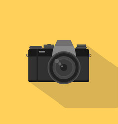 mirrorless camera picture with black vector image