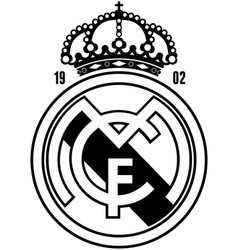 Real madrid vector