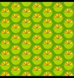 creative lemon pattern design vector image