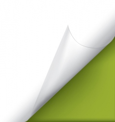 page corner vector image vector image