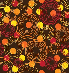 abstract seamless fireworks vector image vector image