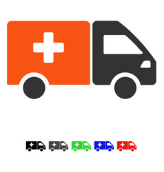 drug shipment flat icon vector image