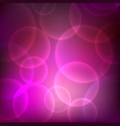 shining pink background with light effects vector image