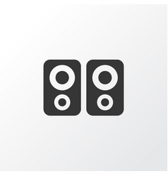 amplifier icon symbol premium quality isolated vector image