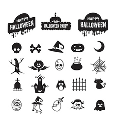 Halloween icon vector