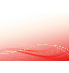 red background with thin strips vector image