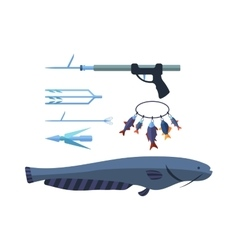 Speargun vector