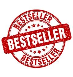 bestseller red grunge round vintage rubber stamp vector image