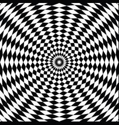 checkered background design vector image
