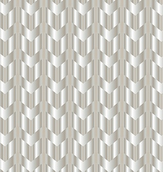 Chevron shiny silver background vector image vector image
