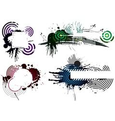 Grunge Designs vector image