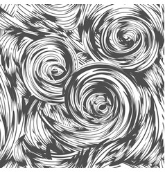 Abstract swirl seamless pattern vector