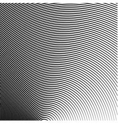 black curved stripes vector image